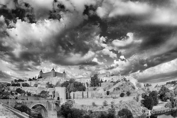 Toledo, Spain, During the Golden Hour - Copyright 2012 Ralph Velasco