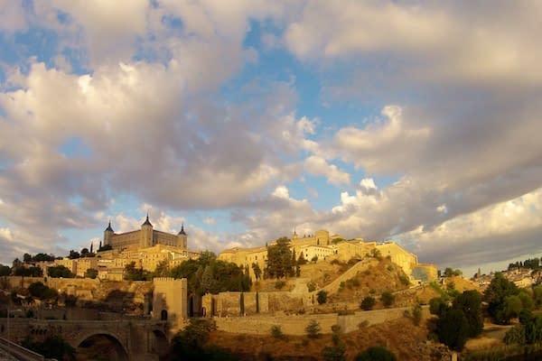 Toledo Spain at Sunrise - Toledo, Spain - Copyright 2012 Ralph Velasco