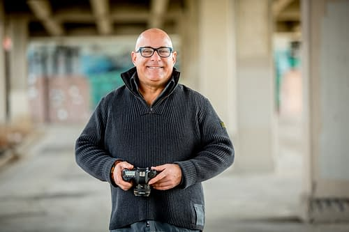 Ralph Velasco with Camera by Michelle Kate LaVigne